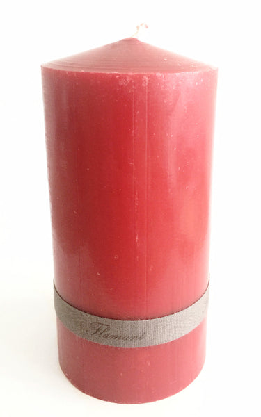 Candle Elise Christmas Red 7,5X14