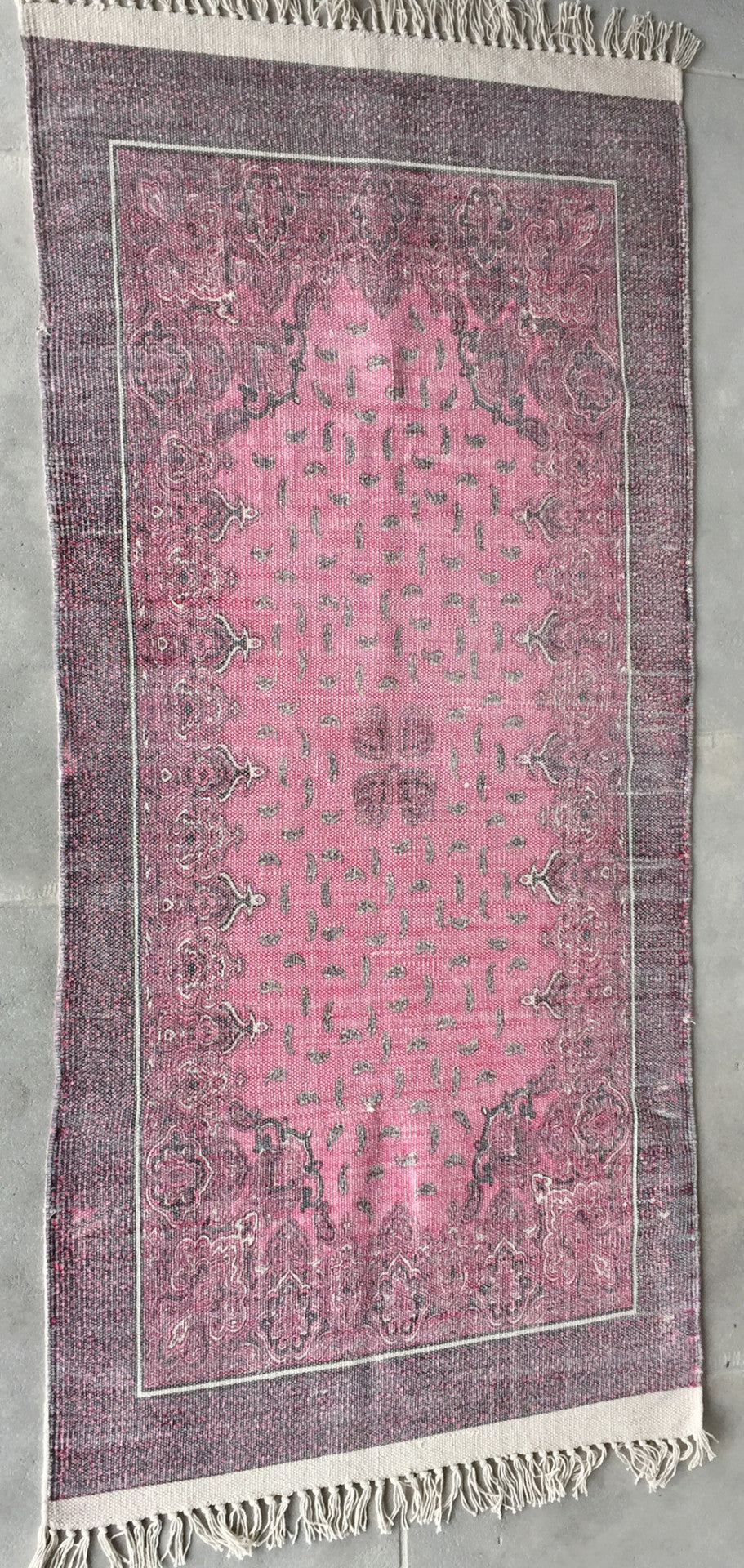 "Bathmat Medaillon Pink (2ft 3.56"" x 4ft 7.12"")"