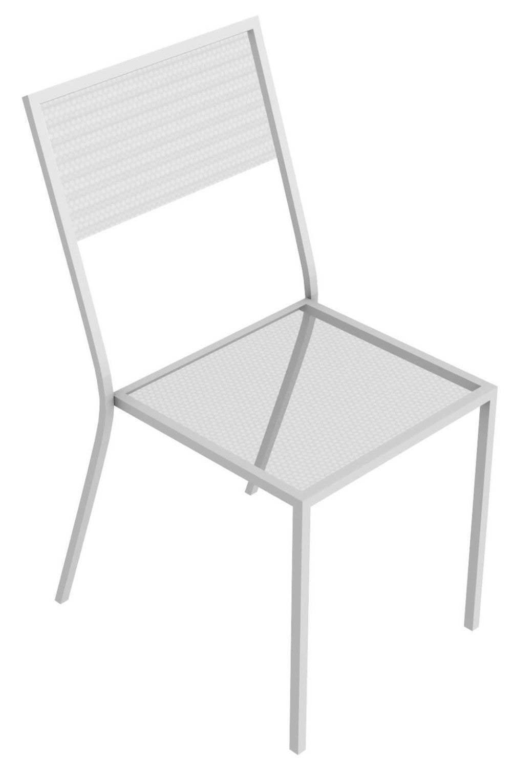 Conrad Lullaby iron stacking chair