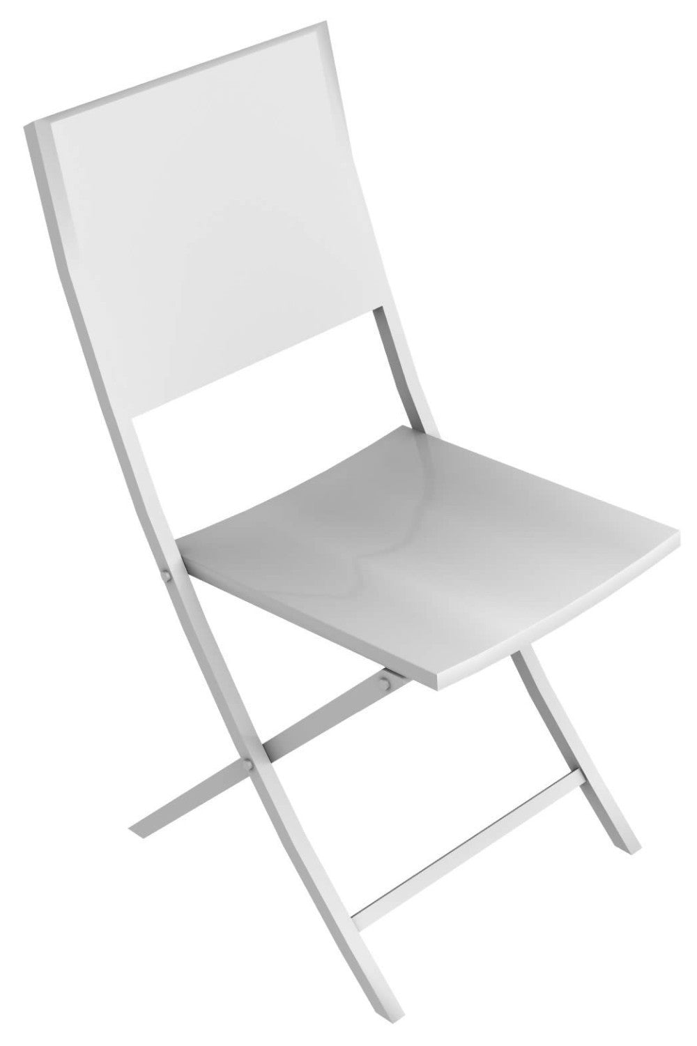 Conrad Niebla iron folding chair