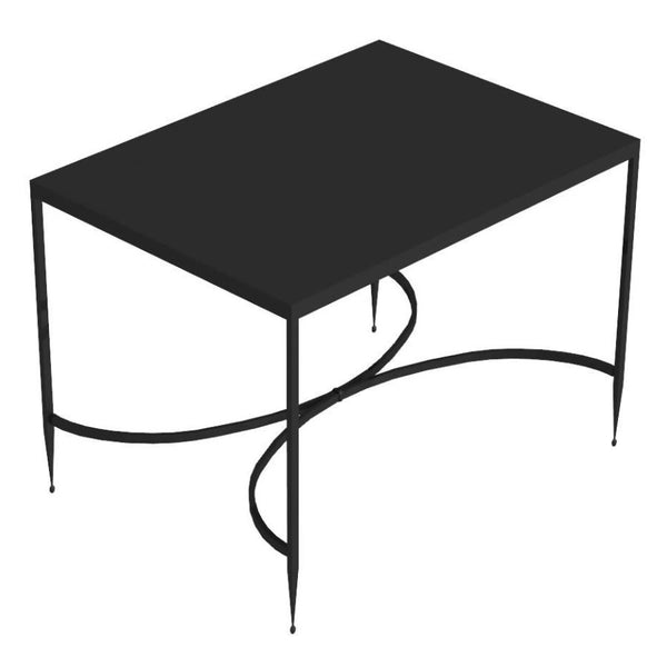 Rectangular Iron Coffee table Toscana cm 52X38