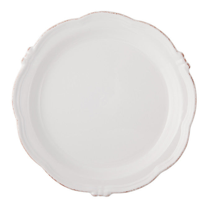 Round Dish Manosque Antique White
