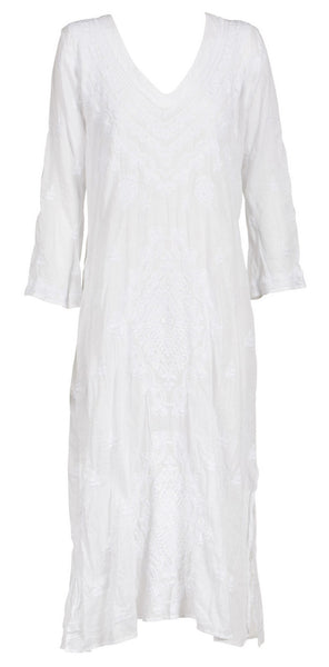 Cotton Embroidery Goa Dress