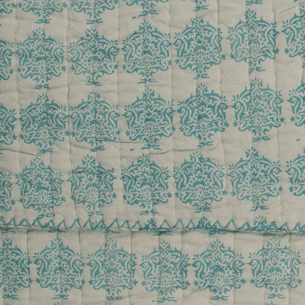 Bedspread JUNE BLUE