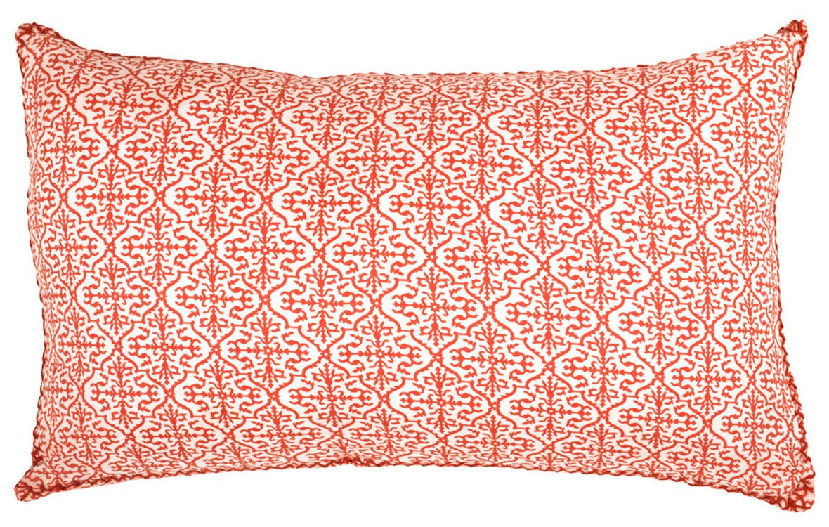 Cushion JUNKO Large - ORANGE