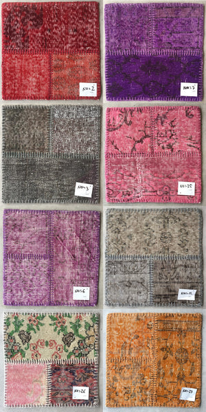 Patchwork Rugs (per square foot)