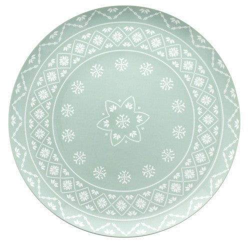 Sabre Paris Megeve Celadon Footed Cake Stand