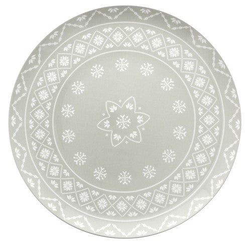 Sabre Paris Megeve Grey Footed Cake Stand