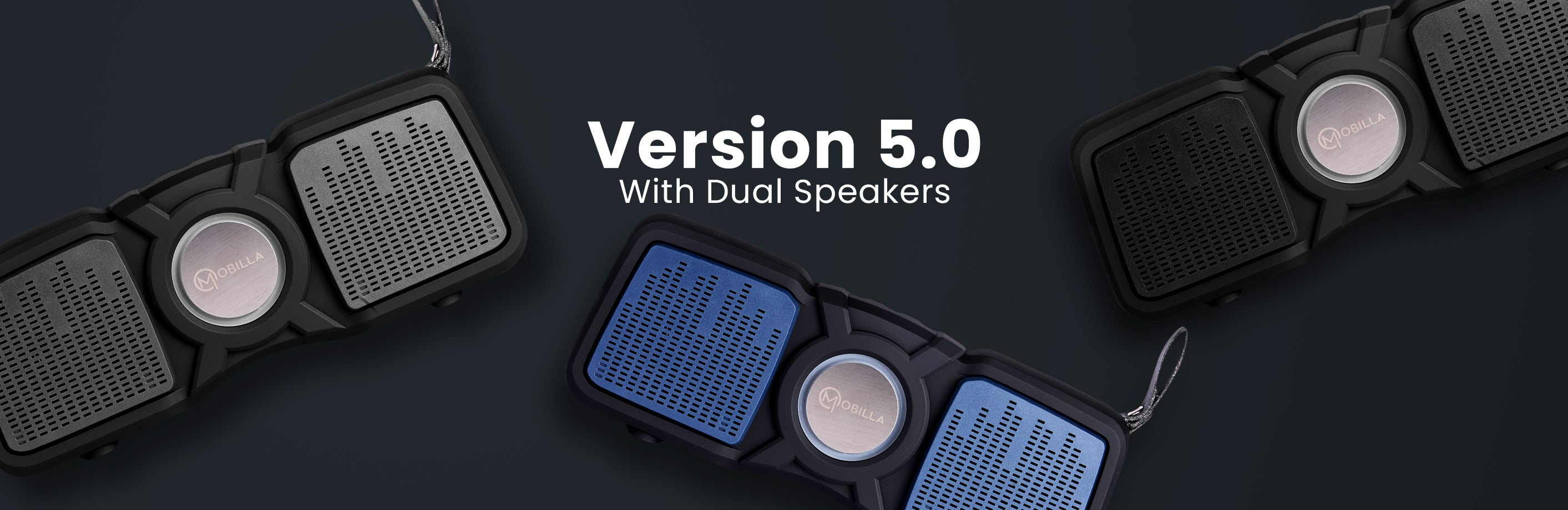 Dual Speaker with Rich Sound