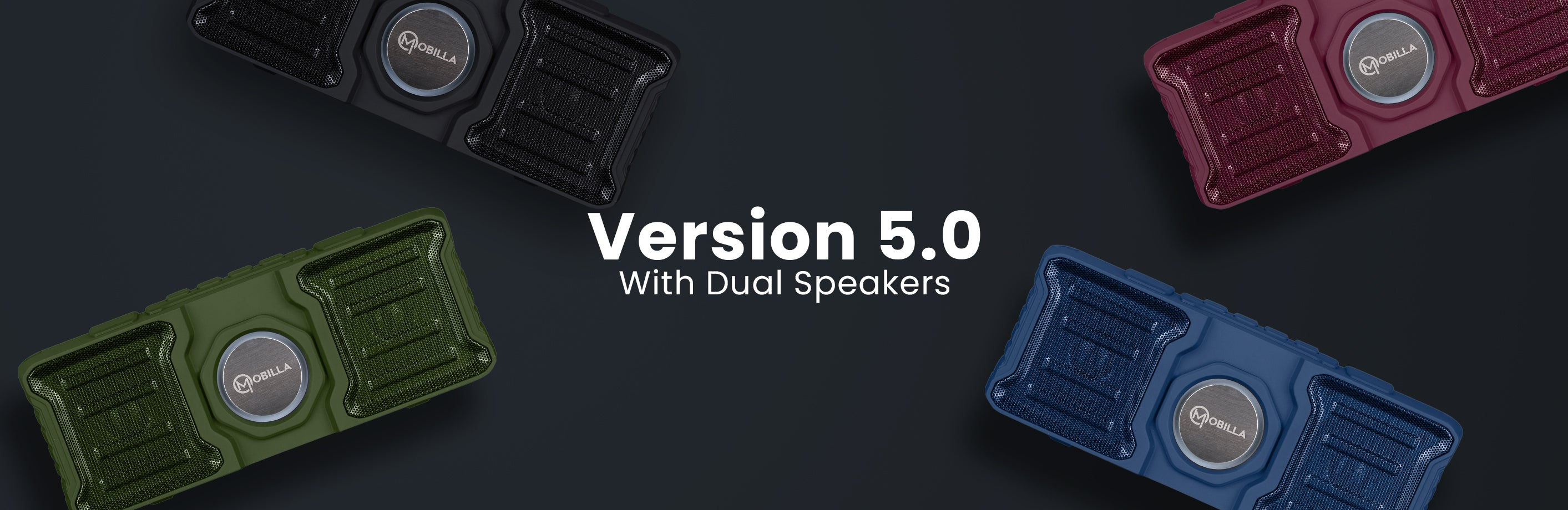 Portable and Dual speaker