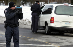 OPP laser speed enforcement