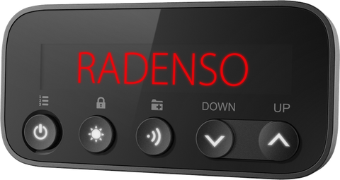 Radenso RC display