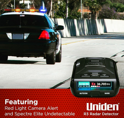 All-new Uniden R3 radar laser detector