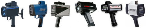 Laser LIDAR speed guns for catching speeders