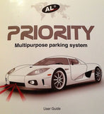 AL Priority parking sensor and laser jammer user manual