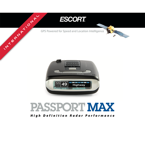 Escort Passport Max International