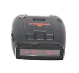 Radenso XP radar detector front display