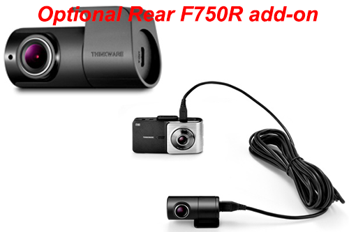 Thinkware X550 Dash Camera Full Hd Dashcam With Lcd
