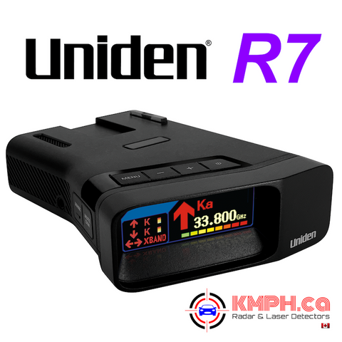 Uniden R7 radar detector is now available for pre-order at KMPH.ca!