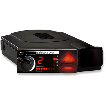 Valentine One V1 radar detector in Canada