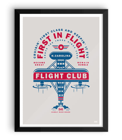 N. Carolina Flight Club Print