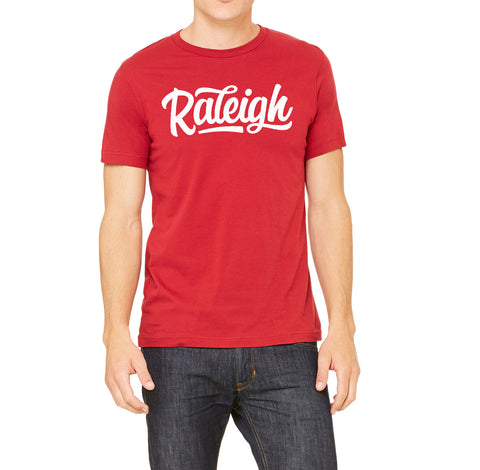 Script Raleigh Red