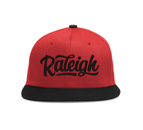 Raleigh Script Red