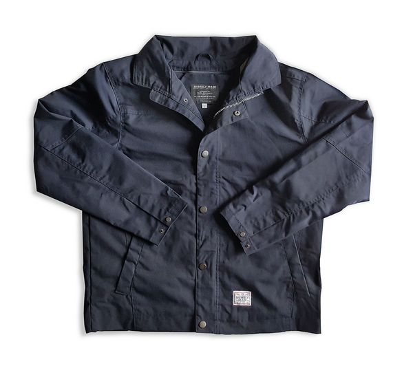 Navy Blue Canvas Work Jacket
