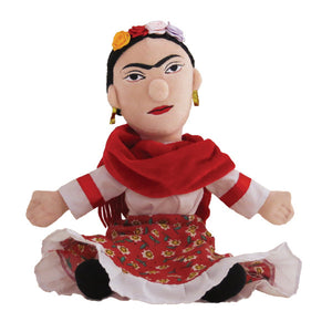 Frida Kahlo Little Thinker Doll without removable monkey