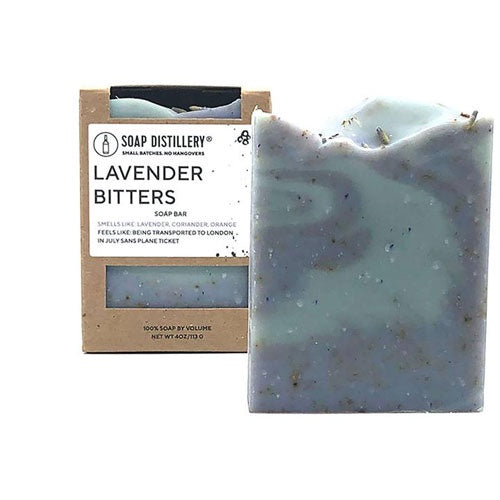 Lavender Bitters Soap by Soap Distillery