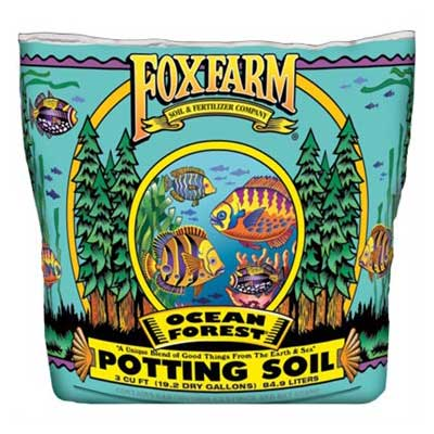 Fox Farm Ocean Forest 3 CF Potting Soil Grow Bag