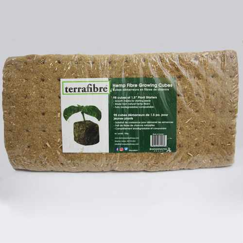 Terrafibre 1.5in Growing Cubes 98pk