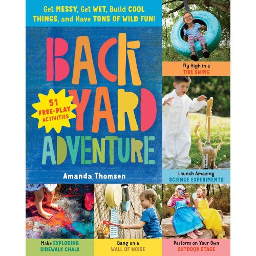 Back Yard Adventure Book Front Cover