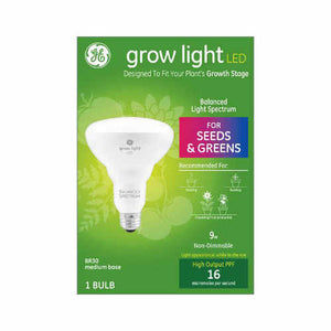 L E D grow bulb for seeds and greens