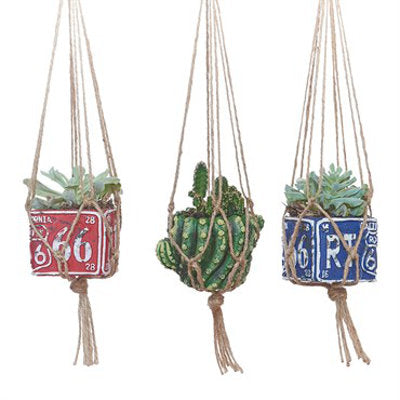 18 inch Mini Natural Jute Plant Hanger