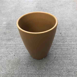 Cone Shaped Ceramic Pot/Pot Cover