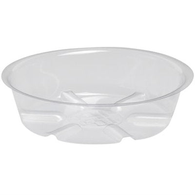 "Clear Plastic Saucer for 6"" pot"