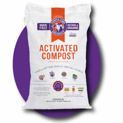 Purple Cow Activated Compost 1CF Bag