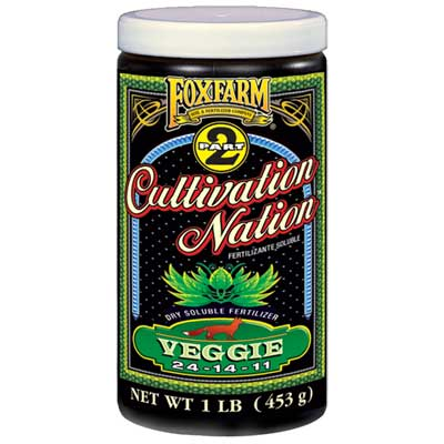 Fox Farm 1LB Cultivation Nation Veggie Granular Plant Food