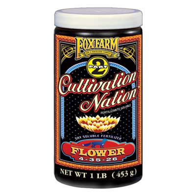 Fox Farm 1LB Cultivation Nation Flower Granular Plant Food