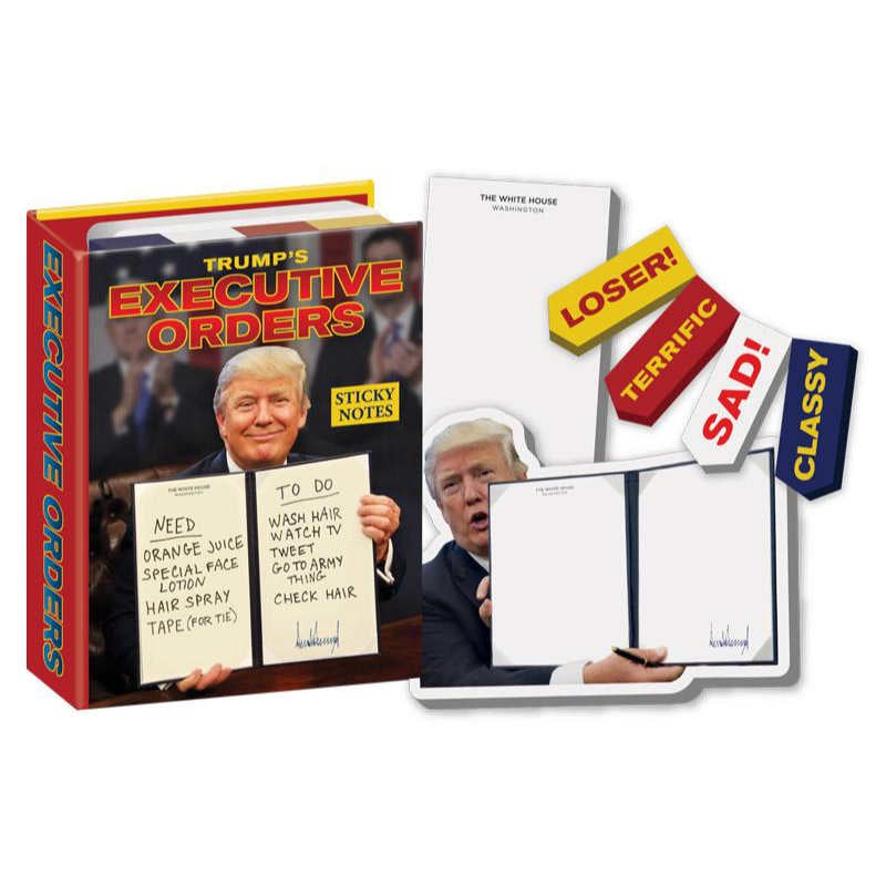 Trump Executive Orders Sticky Notes