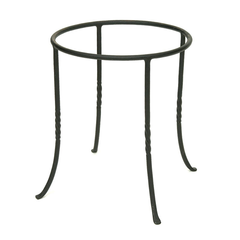 "Achla 12"" Diameter Iron Ring Stand"
