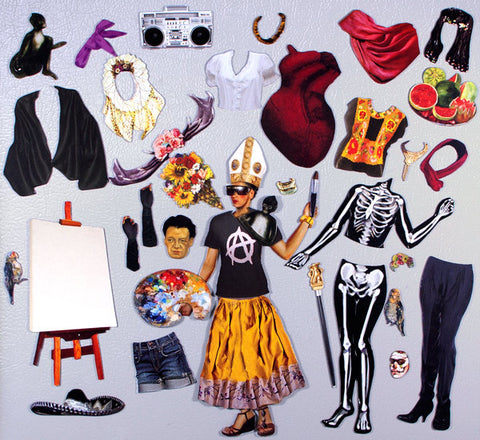 Frida Kahlo's Frocks & Smocks Magnetic Dress Up - Seguin Gardens & Gifts  - 1