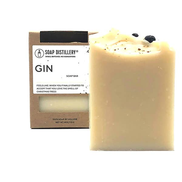 Gin Soap Bar by Soap Distillery