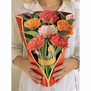 Pop Up Paper Floral Bouquets