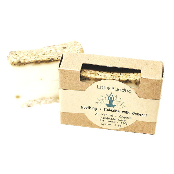 Little Buddha Soothing Relaxing + Oatmeal Goat Milk Soap