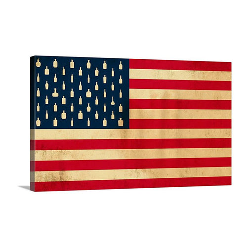 Bourbon Patriot Flag – 24x36