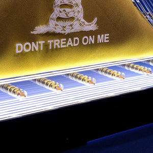 """Don't Tread On Me"" Prism & Glencairn Gift Set"