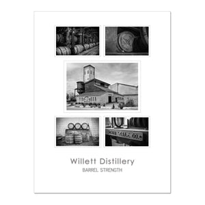 "Willett Distillery – 18x24"" Framed Poster"