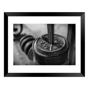 Barrel Scale Photo Print
